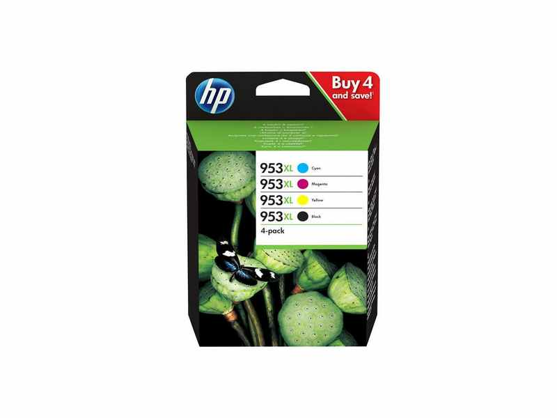 PACK CARTUCHO HP953XL 4 COLORES