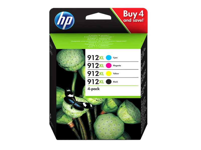 CARTUTX HP 912XL PACK 4 COLORS