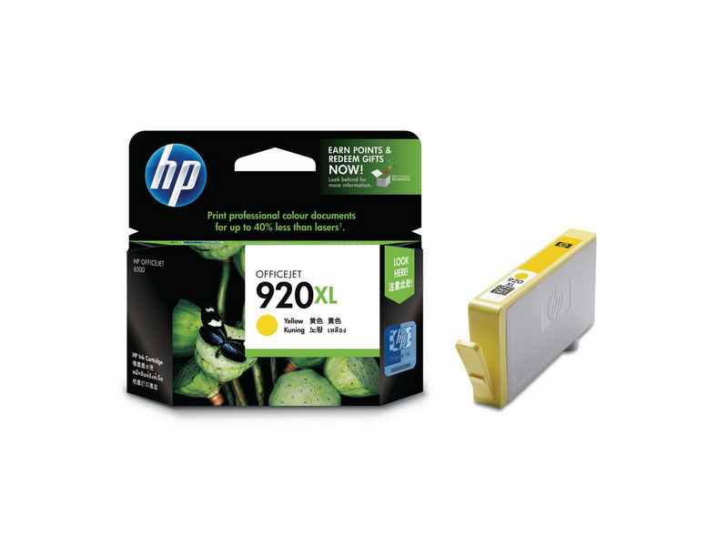 CARTUCHO HP OFC 6500 AMARILLO 920XL