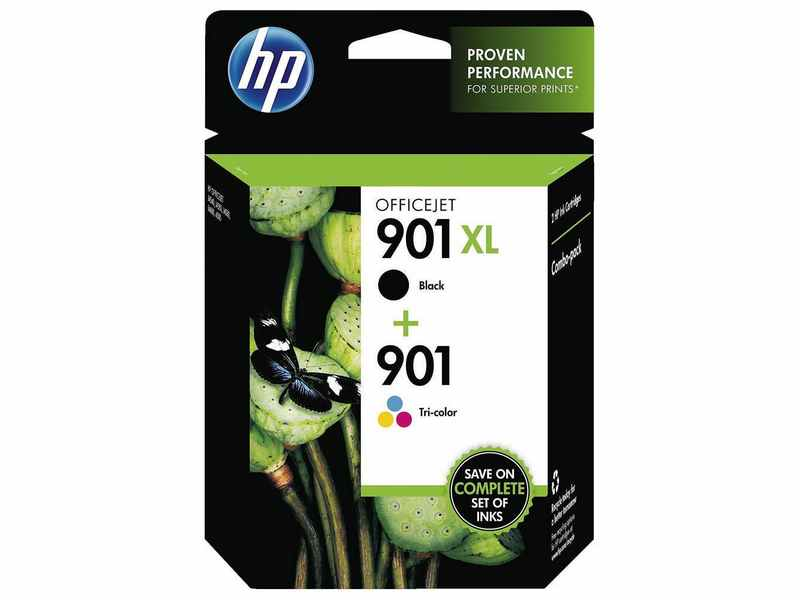 PACK CARTUCHOS HP 901XLBK+901C