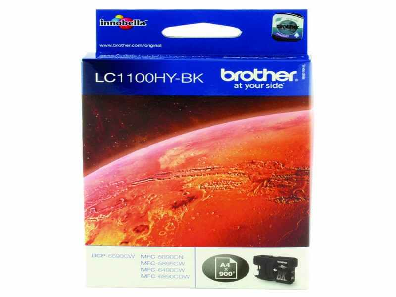 CARTUTX BROTHER LC-1100HY-BK