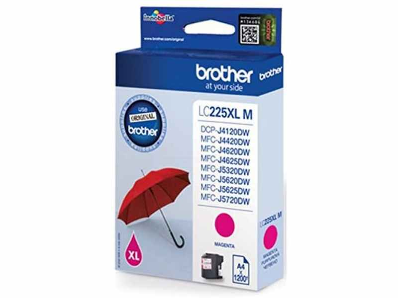 CARTUTX BROTHER LC225XL MAGENTA 1200p