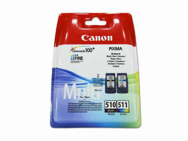 CARTUCHO CANON PACK PG510/CL511
