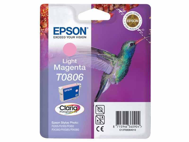 CARTUCHO EPSON STYLUS PHOTO MAGENTA