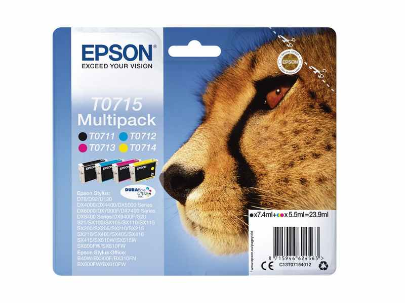 PACK CARTUTXOS EPSON T0715
