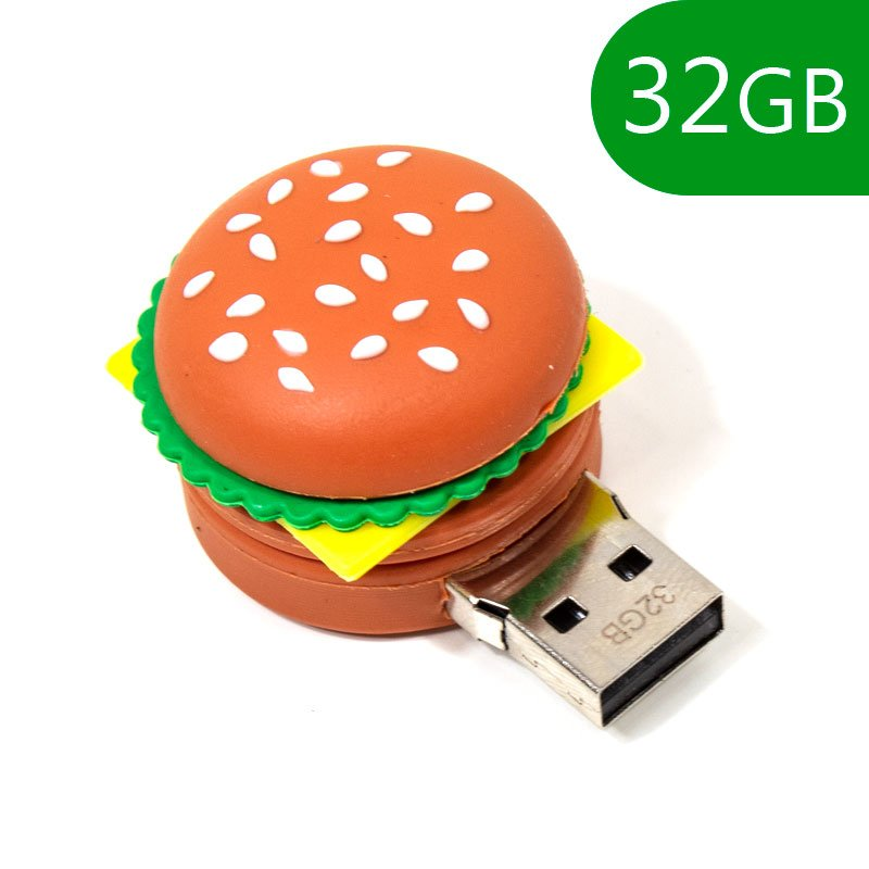 PENDRIVE 32GB 2.0 HAMBURGUESA